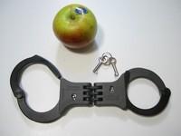 Image of Hagge hinged handcuffs, Model, No D