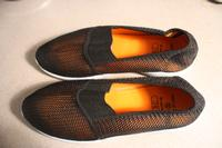Image of A new Shoe - Orange Mesh Step in M