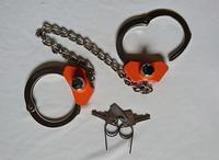 Image of Peerless High Security leg irons, Model No 703CHS
